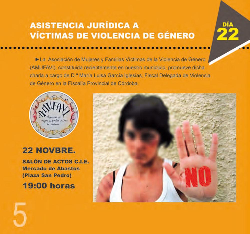 0a21ce6a0b1 Asistencia jurídica a víctimas de violencia de género. Pulse para ampliar.