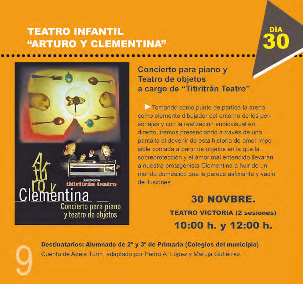 cfe3f5fa576 Teatro infantil